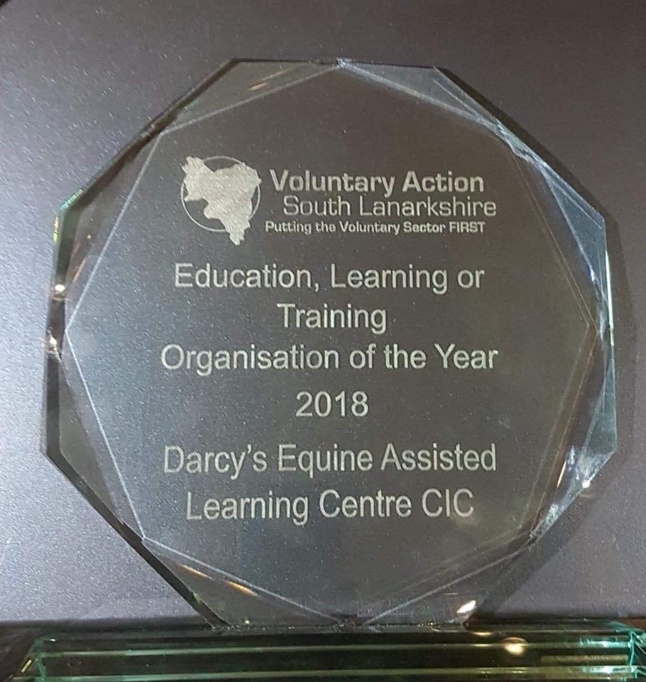 Darcy's Equine Assisted Learning Awards -7